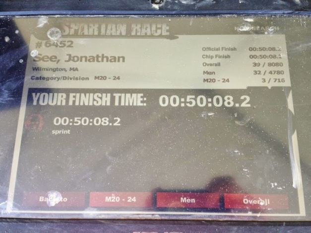 Spartan Results Screen